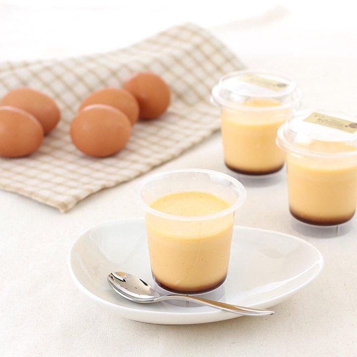 コクマロプリンとシフォンケーキ(温州みかんと紅茶)の詰め合わせ1