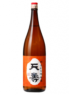 天寿 「燗上がり純米酒」<br>1800ml