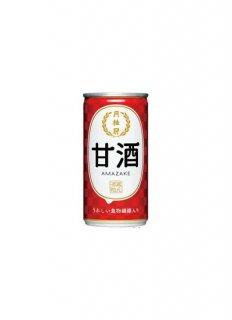 月桂冠 甘酒 [缶]<br>190g x 30本[ケース販売]<br>※3ケースまで1梱包分の送料となります。