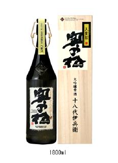 奥の松 大吟醸雫酒<br>十八代伊兵衛<br>720ml / 1800ml