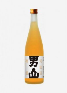 気仙沼男山 本格浸漬酒<br>純米仕立て あらしぼり梅酒<br>500ml / 1800ml