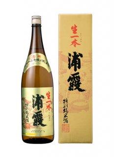 浦霞 特別純米酒 生一本(きいっぽん)<br>1800ml