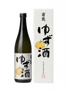 【冷】浦霞のゆず酒<br>720ml