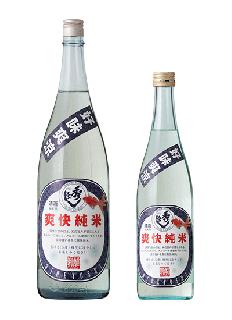 秀よし<br>爽快純米酒<br>720ml / 1800ml
