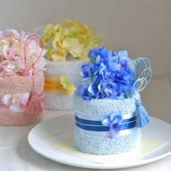タオルケーキ ギフト 1段 誕生日 出産祝い 結婚祝い 和のタオルケーキ【送料無料】