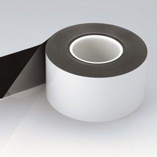 遮光・反射PETフィルム両面テープ NO.5682E【白&黒・0.06mm厚】(幅:80mm、長さ:50m)