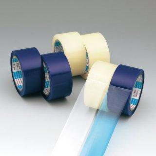 エアー緩衝材用テープ NO.335PE(青色)【0.075mm厚】(幅:50mm、長さ:50m)