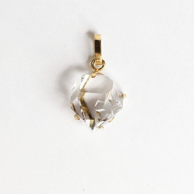 ハーキマーダイヤモンドのペンダントトップ 8.7ct