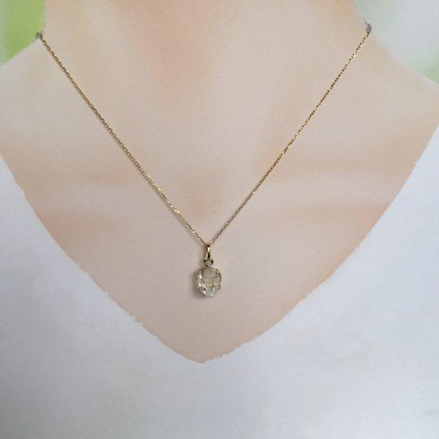 ハーキマーダイヤモンドのペンダントトップ 4.75ct