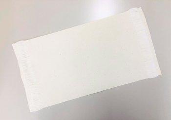 �1011 綿ミニテーブルセンター 22×33房3cm  20枚1セット 染色用 精練済