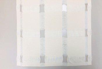 �1013 綿3巾コースター(3枚1組)10cm角  20組1セット 染色用 精練済