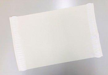 �51017 綿ランチョンマット 20枚1セット 染色用 未精練
