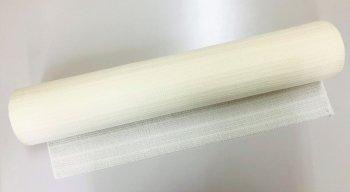 �2128 メリノウール&オーガニックメリノウール ふっくらボーダー巾54cm  mカット販売    染色用 未精練