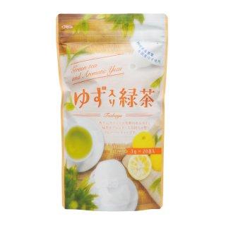 ゆず入緑茶TB 3g×20