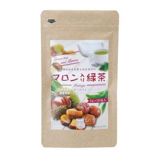 マロン緑茶TB 3g×10