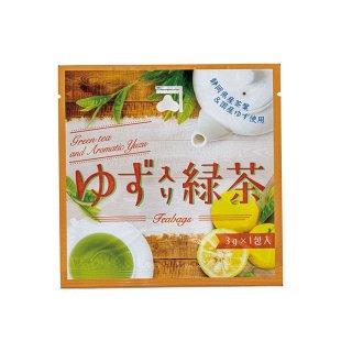 ゆず入緑茶TB 3g一煎パック