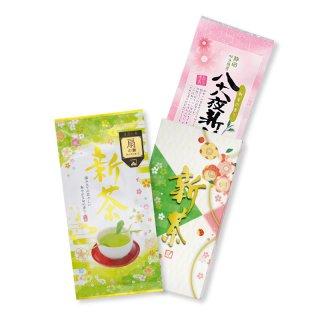 【予約5/4以降〜】新茶 扇の舞・八十八夜新茶 100g平袋2本カートン箱入※包装なし