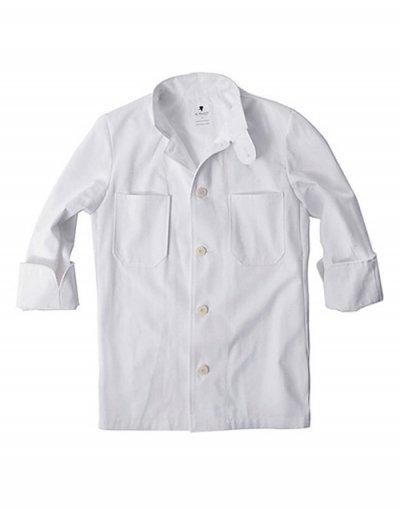 Single Chef Coat (White) #AJ1378