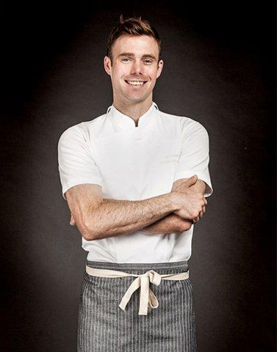 Slim 1/2 Chef Jacket (White) #AJ1555