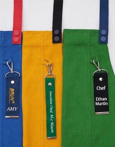 Custom initial name strap