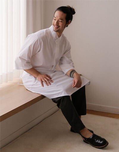 Draw string Tapered Leg Chef Pants # AP1999 Dark grey