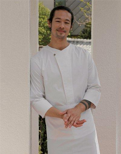 Kiho Sushi Chef Coat #AJ1986