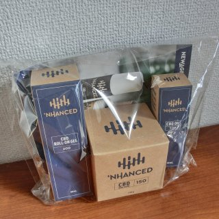 エンハンストCBD 3点セット 'NHANCED CBD Topicals Pack