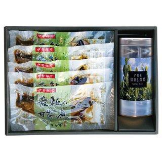若鮎五尾と深蒸し煎茶 【TAH-A】