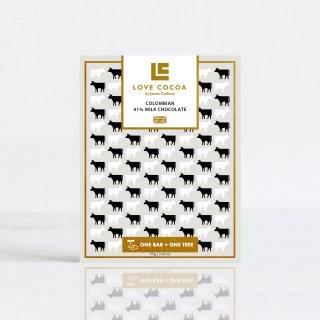 コロンビアン 41%ミルク 75gの商品画像