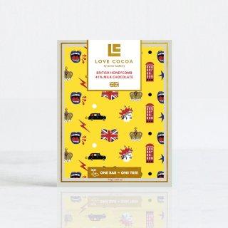 《ロンドンエディション》 ハニーコーム 41%ミルク 75gの商品画像