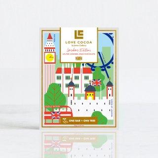 《ロンドンエディション》ソルティキャラメル 41%ミルク 75gの商品画像