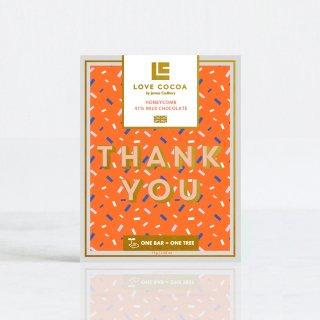 《THANK YOU》 ハニーコーム 41%ミルク 75gの商品画像