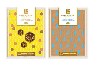 ≪LOVE COCOA(ラブココア)≫ブリテンズ ミルクチョコレートの商品画像