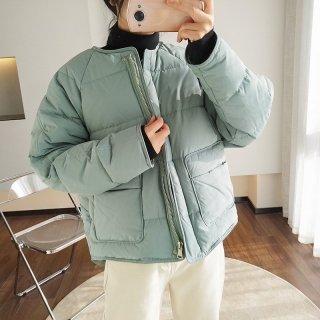 ジャケット アヒル レディース 暖かい きれいめ ビックサイズ ゆる スタイル