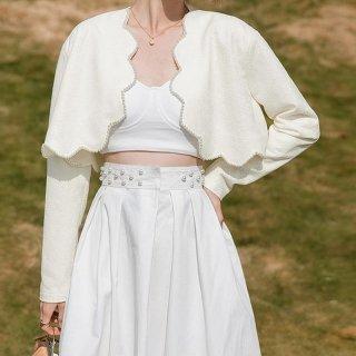 春 ピュア シャツ 韓国 ブラウス 新作 シンプル 長袖 半袖 女性 レディース