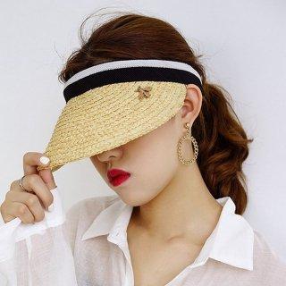 ストローハット キャップ 韓国 女性 日焼け止め レディース 手作り アウトドア