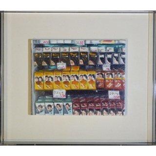 リサ・ミルロイ「Hair Dye」現代アート 絵画 額付 油彩画
