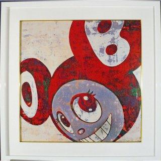 村上隆「そして、そしてそしてそしてそして3」絵画 額付 版画