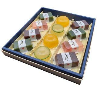 水羊羹・ゼリー 伊賀涼菓 夏の彩り 12個入り