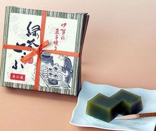 緑茶とうふ