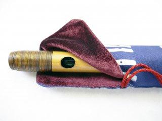 オリジナル笛袋 1管入れ「ふえふえ」