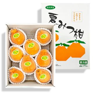 【送料無料】夏みつ柑 2kg箱【不知火】