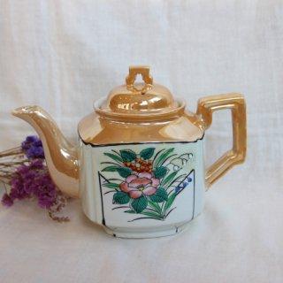 vintage 50's tea pot/ビンテージ made in japan ティーポット(260A1)