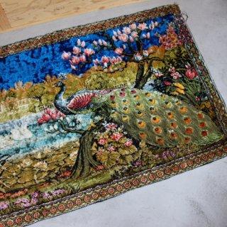 Vintage rug tapestry/ビンテージ ラグ タペストリー(420A2)