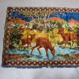 Vintage rug tapestry/ビンテージ ラグ タペストリー(421A2)