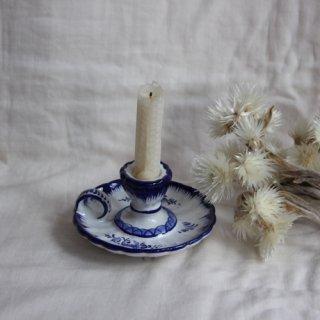 vintage ceramic candle holder/ビンテージ陶器キャンドルホルダー/燭台(541A3)