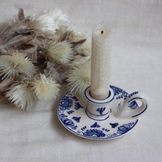 vintage ceramic candle holder/ビンテージ陶器キャンドルホルダー/燭台(652A3)