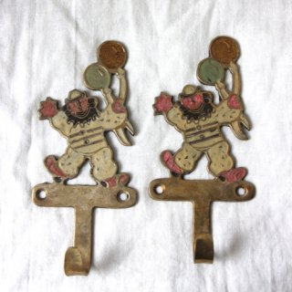 vintage circus hook/ビンテージ真鍮サーカスフック(風船)(063)