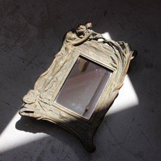 vintage mini mirror/ビンテージ ミニ ミラー(601A3)
