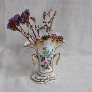 Vintage ceramic mini flower vase/ビンテージ 陶器 ミニ フラワーベース/花瓶(755)